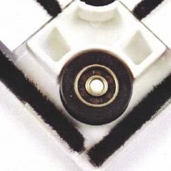 Escuadras inferior para Mosquitera Corredera - Color Blanco