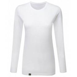 Camiseta Manga Larga Mujer Antimosquitos blanca