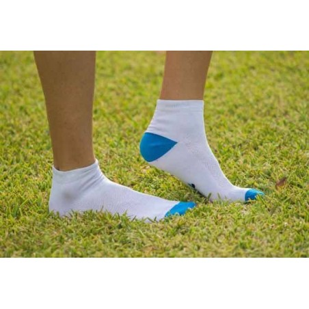 Calcetines tobilleros antimosquitos - blanco Hombre