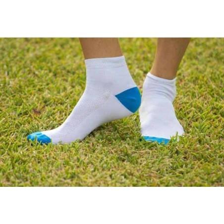 Calcetines tobilleros antimosquitos - Niño - blancos