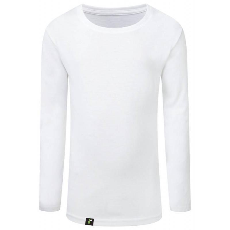 Camiseta Manga Larga Niña Antimosquitos - blanca