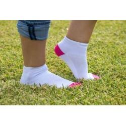 Calcetines tobilleros antimosquitos - Mujer - blancos