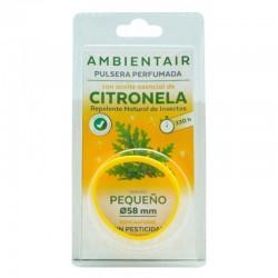 Pulsera anti mosquitos aromatica