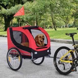 Remolque Bicicleta para Perros con Mosquitera