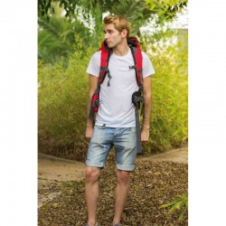 Camiseta antimosquitos para hombre - Manga Corta - Blanca