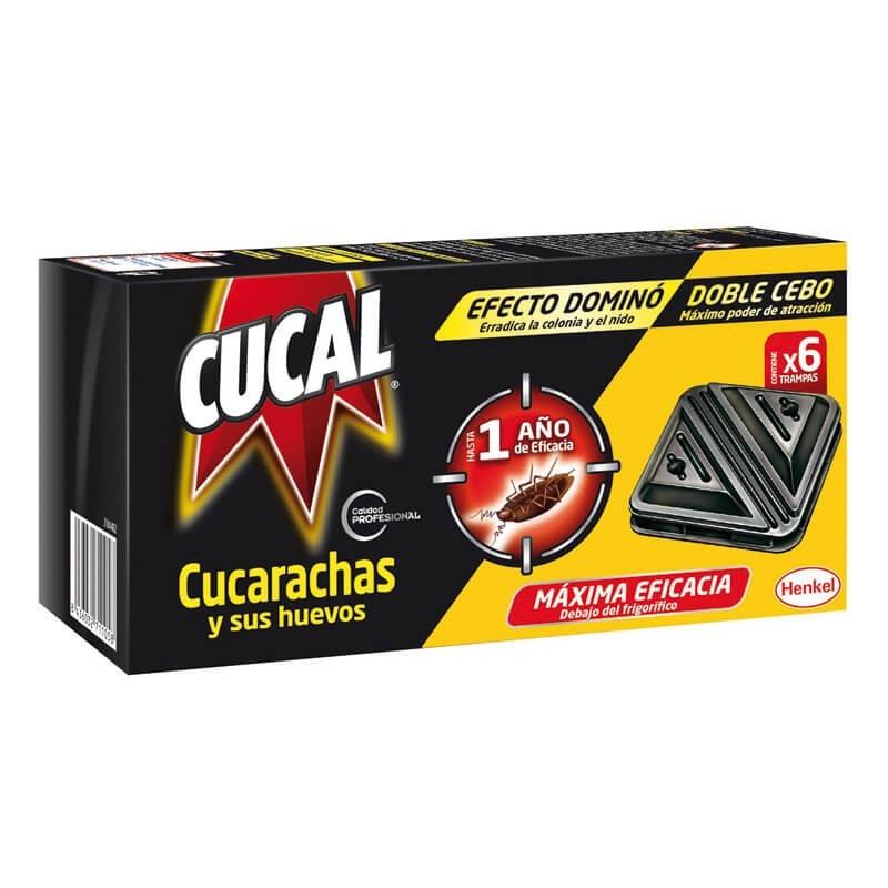 Cucal Cucarachas y sus huevos - Paquete 6 trampas