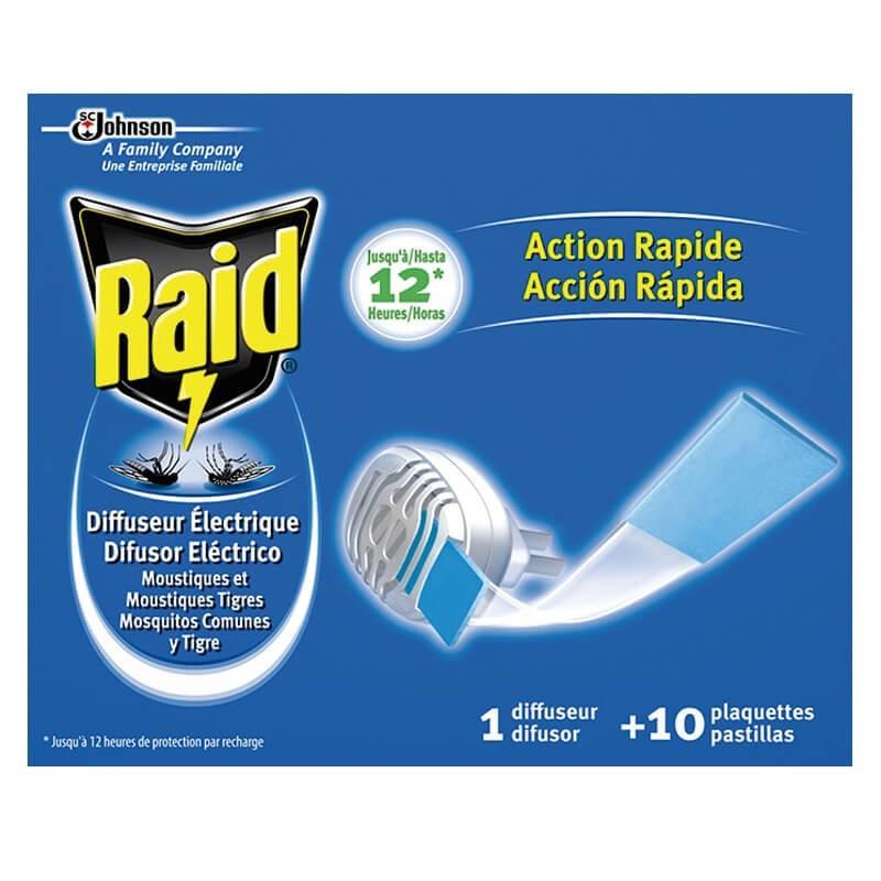 Raid mata mosquitos + 10 pastillas