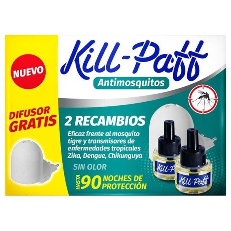 Kill Paff Mosquitos 1 difusores y 2 recambios