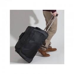 Bolsa de viaje con ruedas y asa metalica