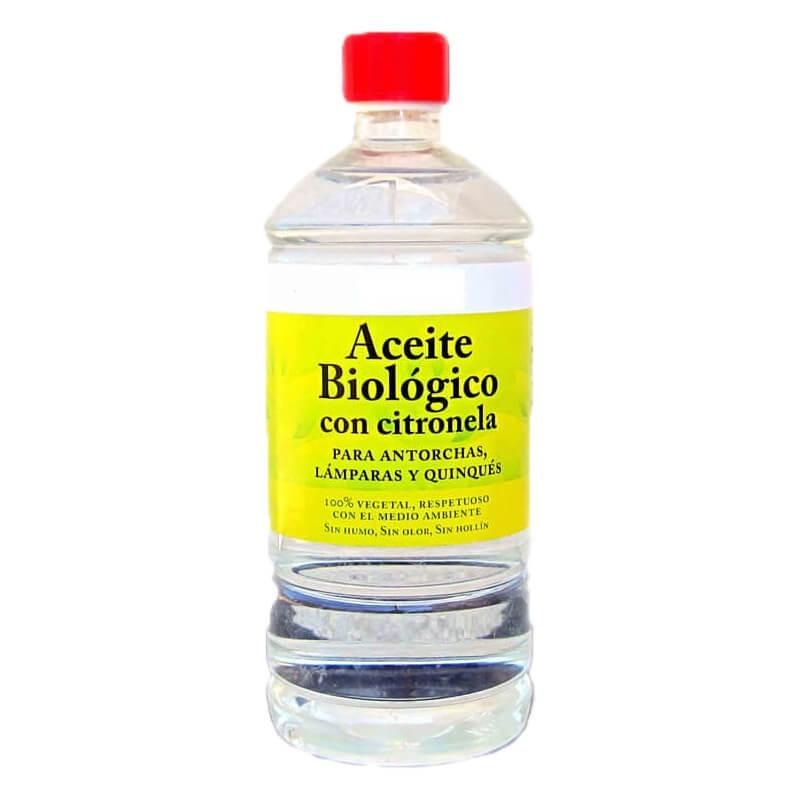Aceite Biologico con Citronela Antorchas