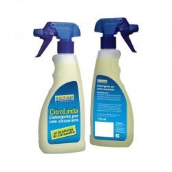 Detergente para limpiar mosquiteras