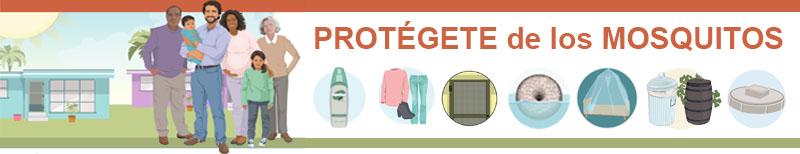 Proteccion frente a los mosquitos