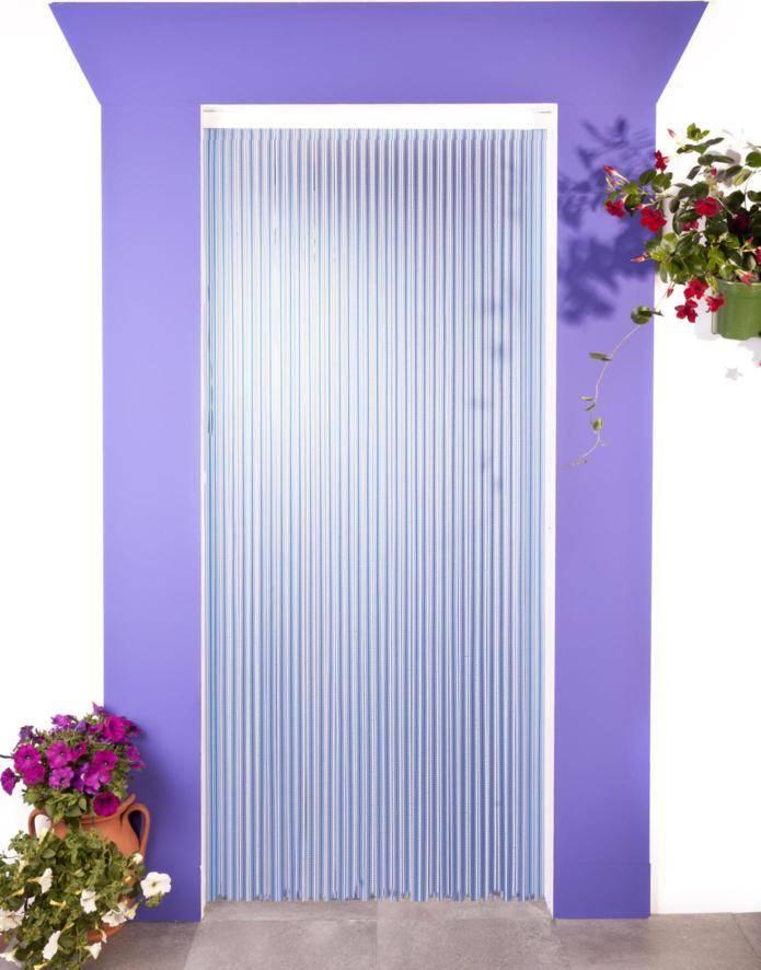 Cortina de cinta bicolor antimoscas