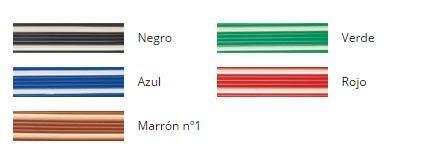 Colores Cortina de cinta bicolor antimoscas