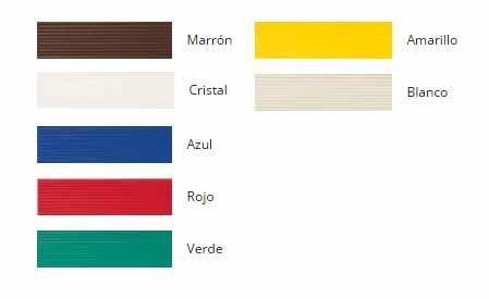 Colores cortina de cinta antimoscas