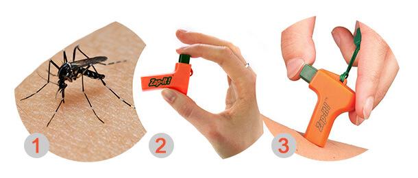 Cómo funciona Zap It - Alviador de picaduras