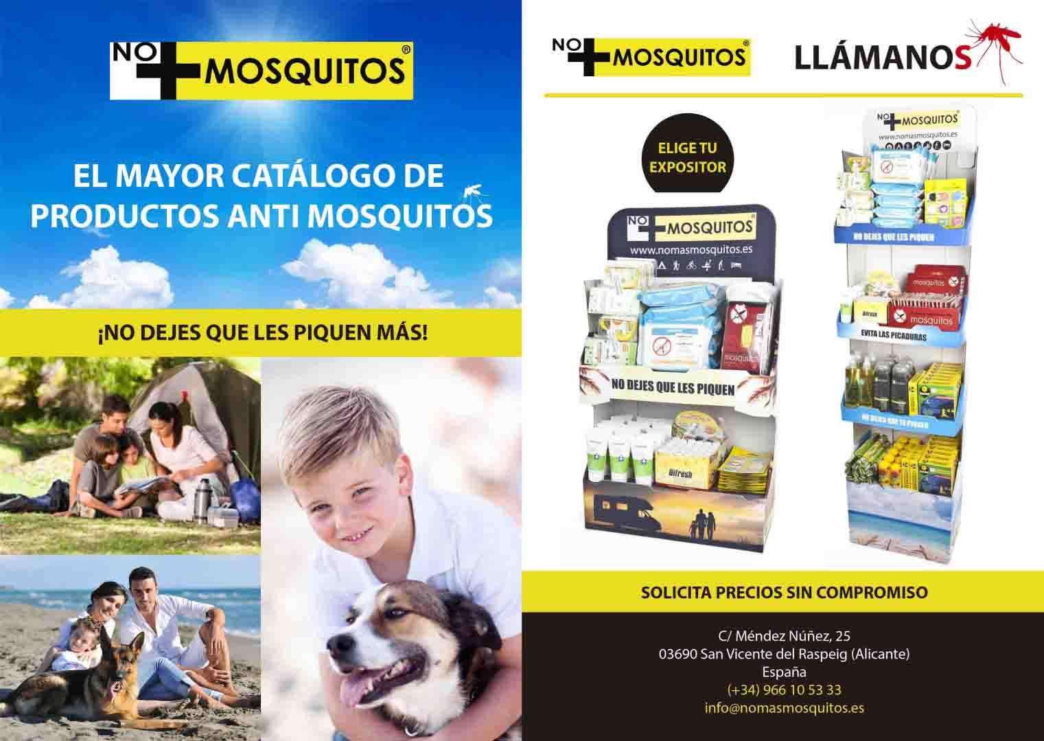 Expositor antimosquitos